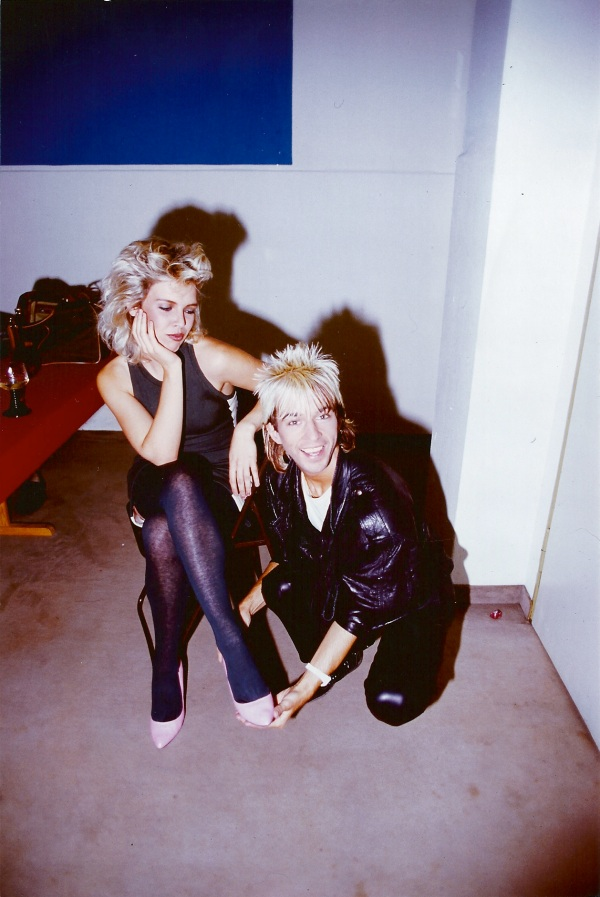 Limahl and Kim Wilde 1983