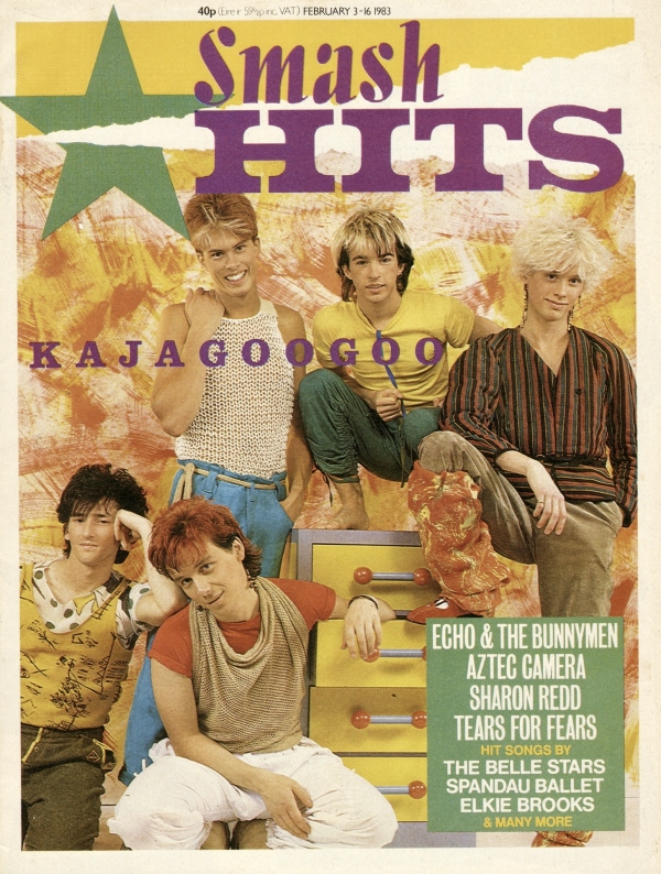 01 Smash Hits Feb 83 Cover