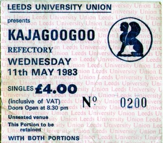 Kajagoogoo Leeds in Concert
