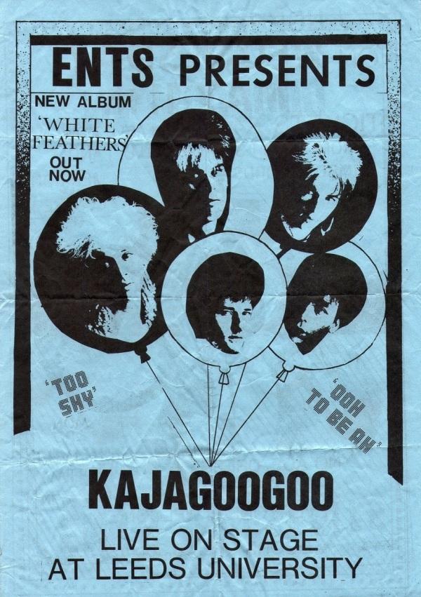 Kajagoogoo Leeds Tour Flyer