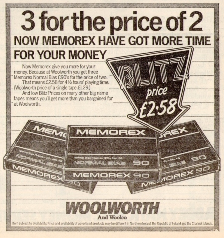 Woolworth Advert