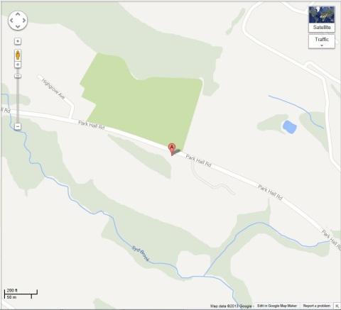 Chorley Map