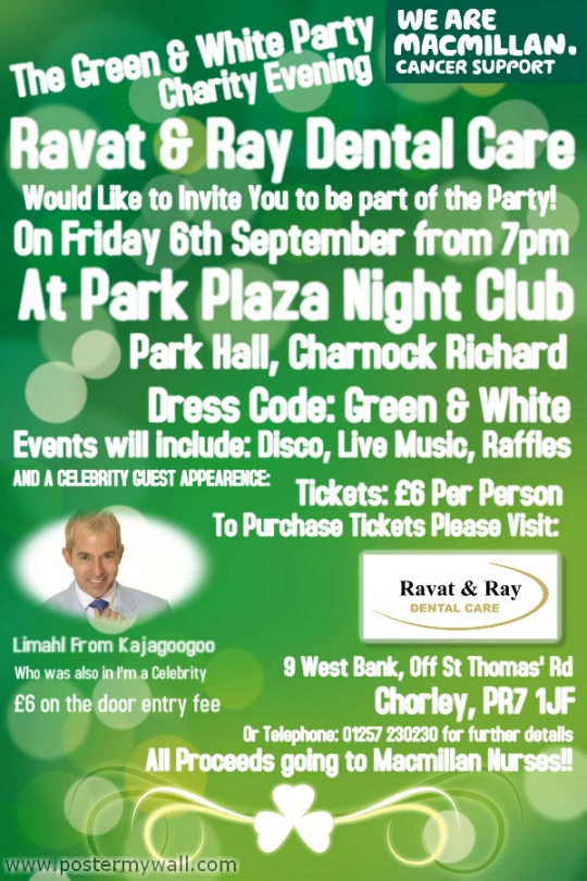 Macmillan Evening Sept 2013