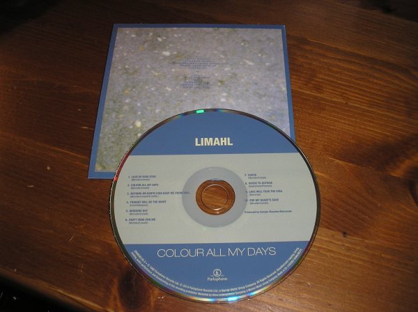 Colour All My Days CD