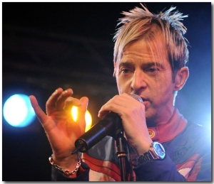 Limahl on Stage