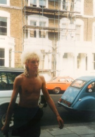 Fan photo of Nick, taken July 1983
