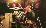Jez in the studio,1984