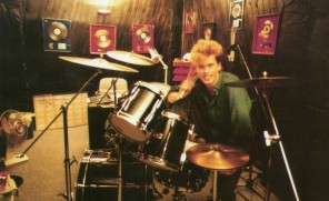 Jez in the studio, 1984
