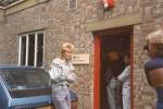 Jez, outside Gimpy Dak Records,1984