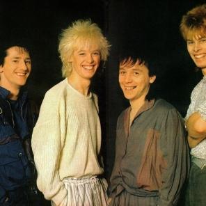 Kajagoogoo 1984 Group Pose
