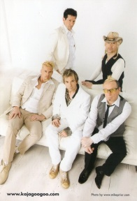 Kajagoogoo 2009 promotional photo