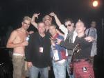 Kajagoogoo backstage with GlennKelly