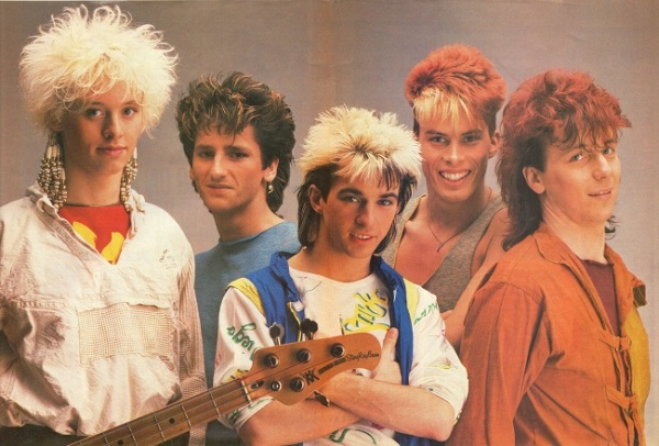 Kajagoogoo: Look-In Magazine Centre Spread