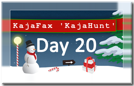 KajaHunt Day 20 Graphic