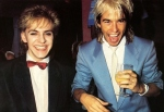 Limahl and NickRhodes