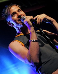 Limahl, on stage in Belfast, 2012