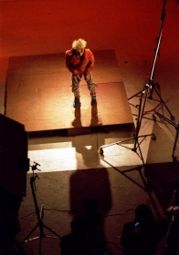 Limahl, Ooh to be Ah video shoot, 1983