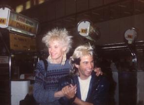 Nick and Limahl, Heathrow 1983