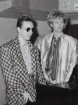 Nick and Steve,1985