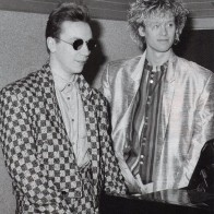 Nick and Steve, 1985