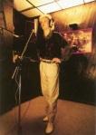 Nick in the studio,1984