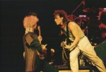 On stage, 1983