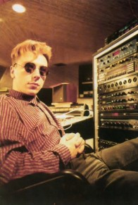 Steve in the studio, 1984