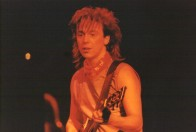 Steve, on stage in Japan 1984