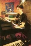 Stuart, in the studio1984