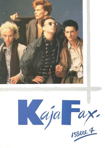 KajaFax Magazine Issue 4 Cover