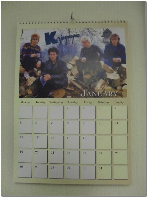 Kajagoogoo 2015 Calendar (1)