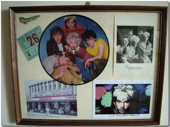 Kajagoogoo Prize Display Hammersmith 1983