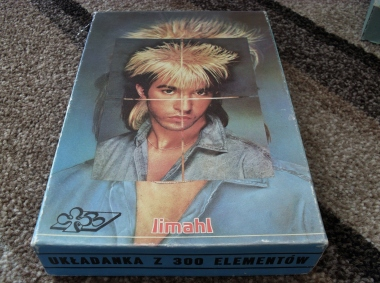 Limahl jigsaw - top of box