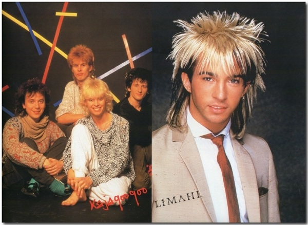 Kajagoogoo and Limahl page front scan