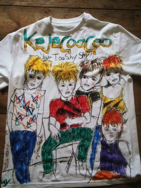 kajagoogoo bespoke t shirts