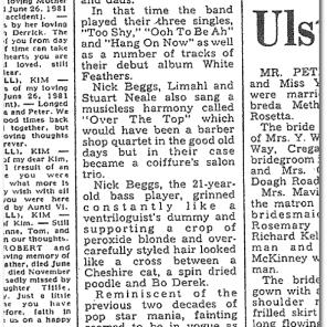 """""""Belfast telegraph Review"""""""