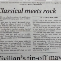 Irish News Article Kajagoogoo