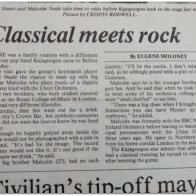 Irish News Article Kajagoogoo