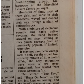"""""""Irish News Review - Stuart may not like the review – ha – keyboards out of tune – is that even possible? I don't think so!"""""""